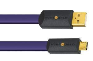 WireWorld Ultraviolet 8 USB 2.0 A to Micro B (U2AM)